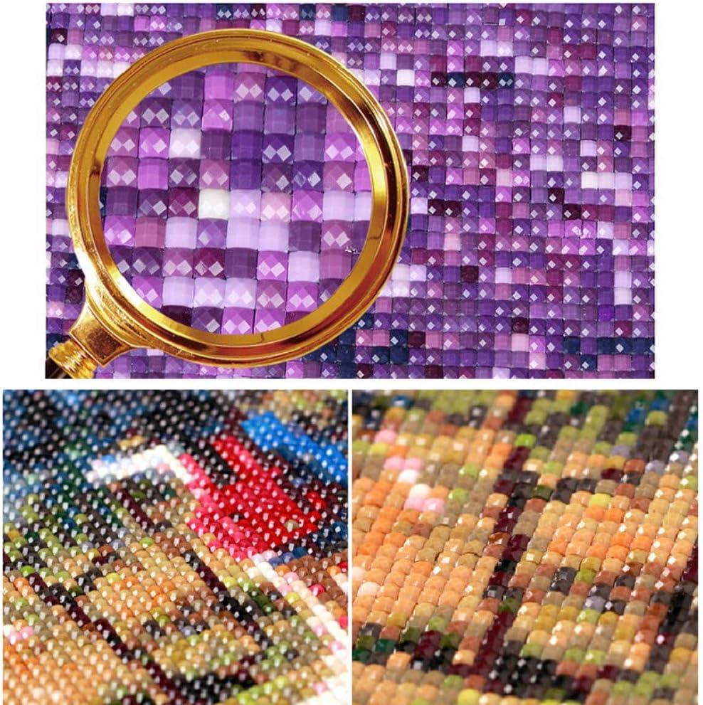 Bricolaje Pintura Diamante 5D Cuadrado Mosaico de Diamante Kit de punto de Cruz Pintura de Diamante Bordado de Eneldo Completo Van Gogh Cafeter/ía