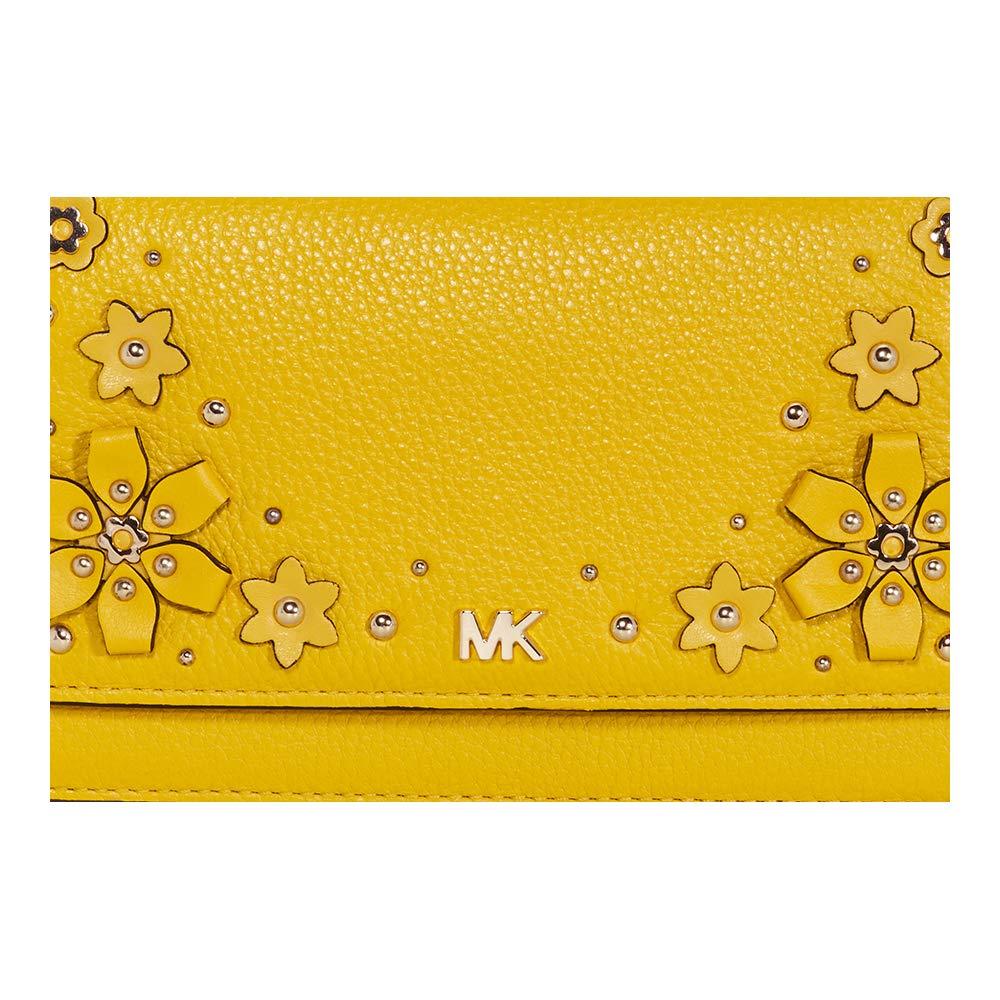 fe779ade493b Michael Kors Floral Embellished Convertible Crossbody- Sunflower: Handbags:  Amazon.com