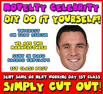 Diy do it yourself face mask dan carter rugby celebrity face diy do it yourself face mask dan carter rugby celebrity face mask solutioingenieria Choice Image