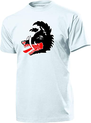 Caza geschwader 300 Wilde Sau Jabalí Escudo Cazadores Aire Arma Alemania ME109 Logo Emblema Uso jg301 jg302 – Camiseta # 1885: Amazon.es: Ropa y accesorios