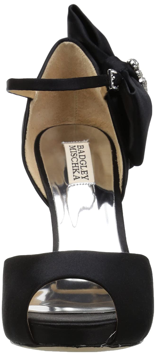 c69e37a8d64 Badgley Mischka Women s Samra Heeled Sandal  Buy Online at Low Prices in  India - Amazon.in