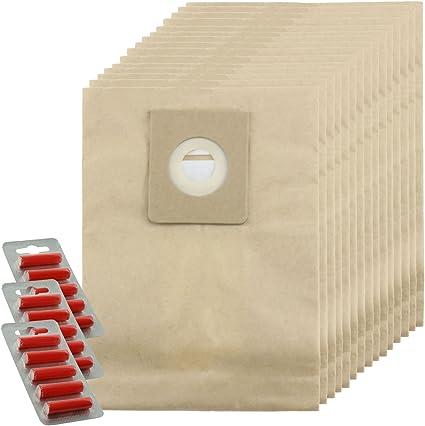 Spares2go fuertes bolsas de polvo para Nilfisk Power P10 P12 P20 P40 aspiradora (Pack de 5, 10, 15, 20 + ambientadores opcional) 20 Bags + 20 Fresheners: Amazon.es: Hogar