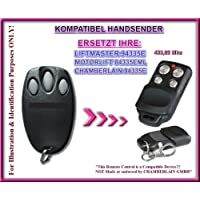 Motor 84335EML compatible handsender, Repuestos emisor, 433.92MHz Rolling