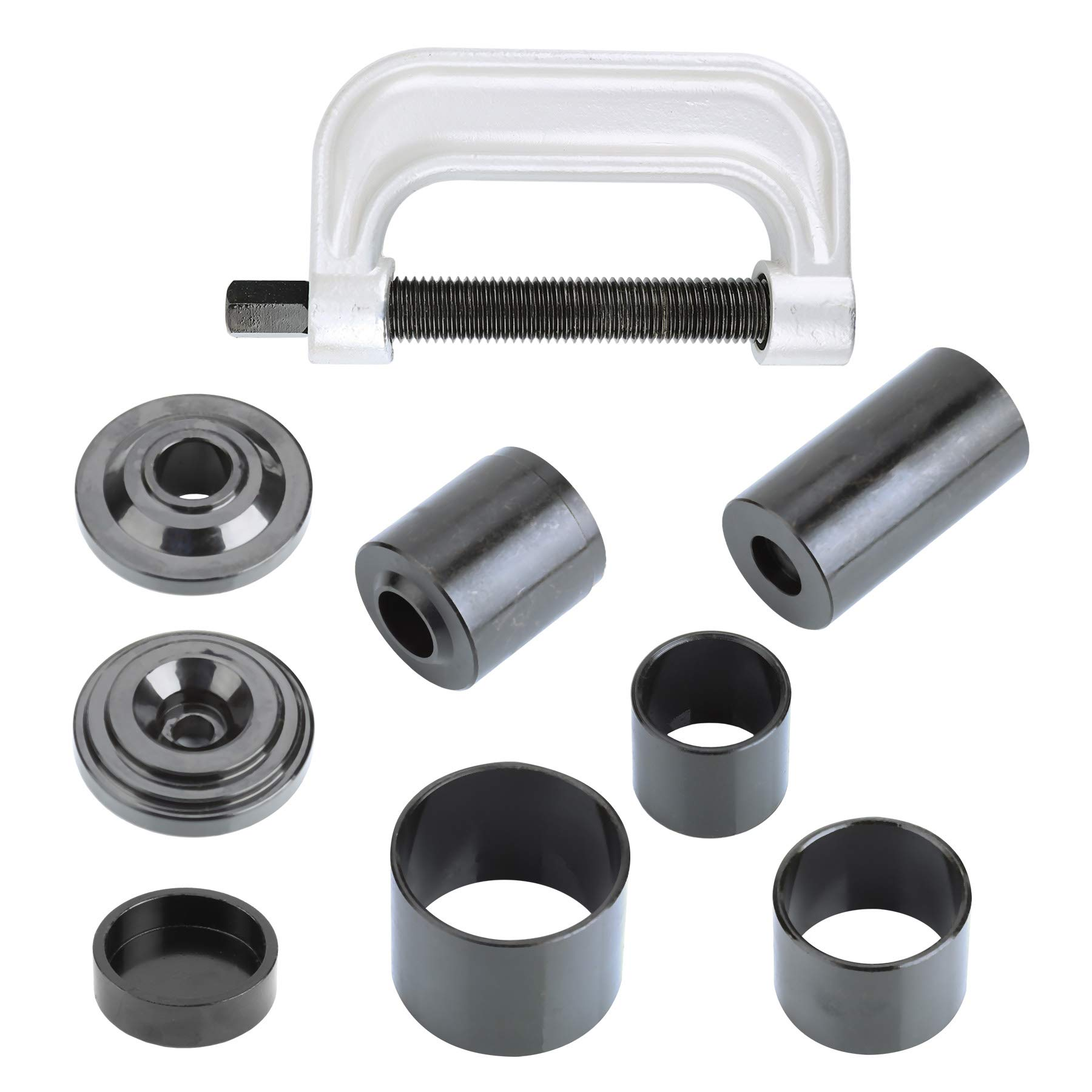 OrionMotorTech Heavy Duty Ball Joint Press & U Joint Removal Tool Kit with 4wd Adapters, for Most 2WD and 4WD Cars and Light Trucks (BK) by OrionMotorTech (Image #8)