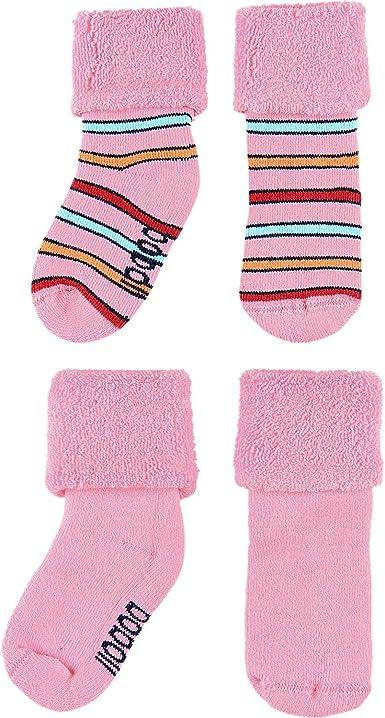 boboli - Calcetines de invierno para niña, pack doble Rosa 16/18 ES: Amazon.es: Ropa y accesorios
