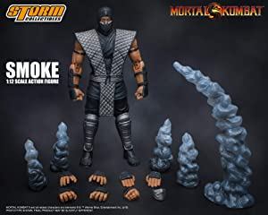 Storm Collectibles Mortal Kombat: Smoke NYCC Exclusive Action Figure
