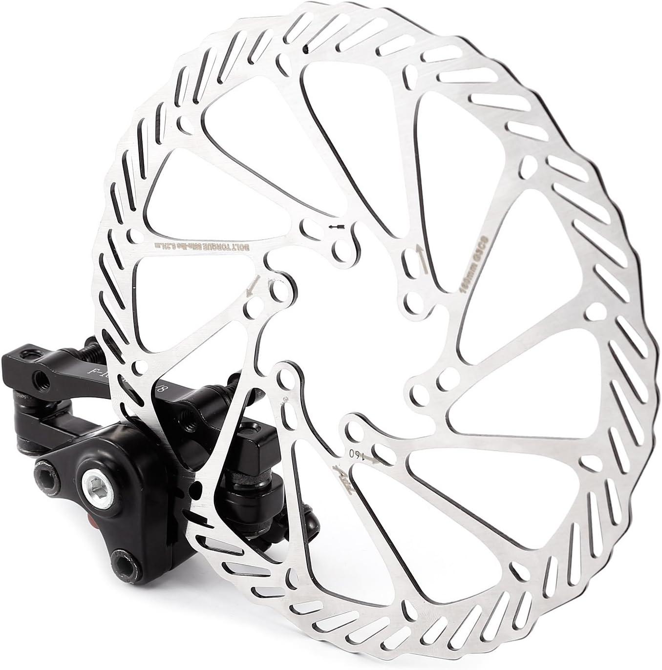 Mountain Bike Bicycle 160mm Rotor Front Rear Mechanical Disc Brake Caliper Kits