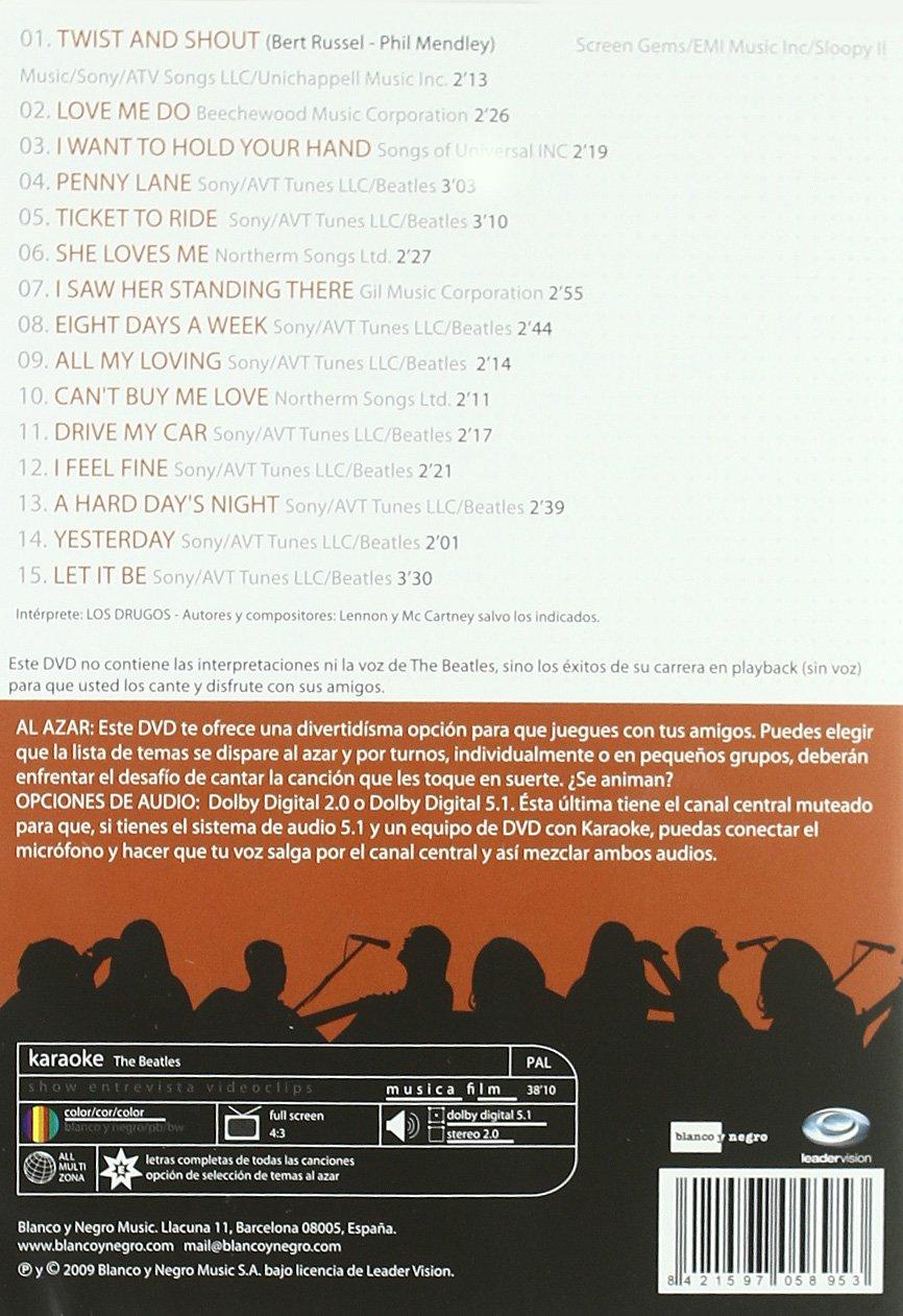Karaoke Beatles [DVD]: Amazon.es: Karaoke: Cine y Series TV
