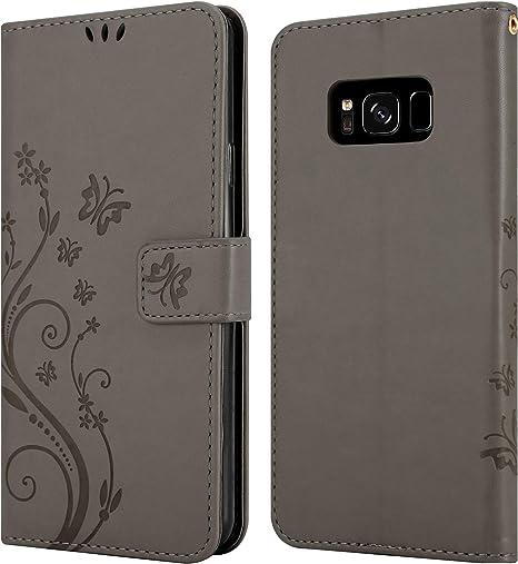 Cadorabo Hülle Für Samsung Galaxy S8 Plus In Floral Elektronik