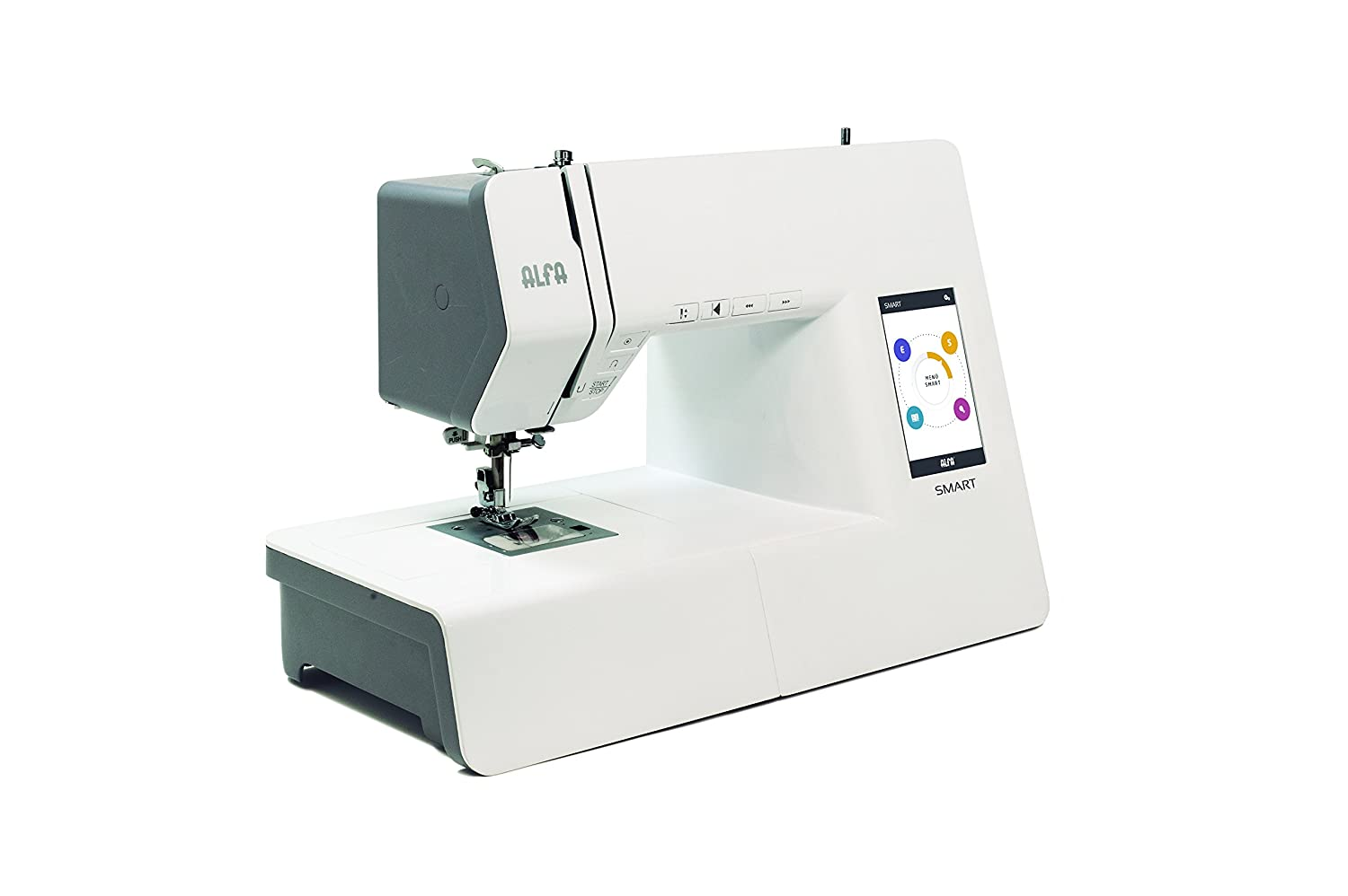 Alfa Smart Electric Sewing Machine Instructions May Not Be In