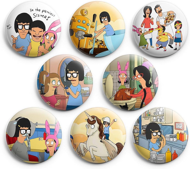 Louise Belcher 1.25 Inch Button Pin Bobs Burgers
