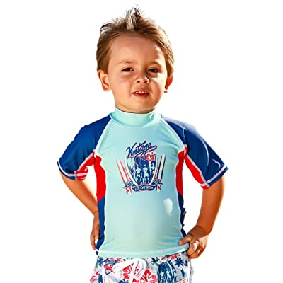 Baby Boys Rash Shirt Multi Panel SS