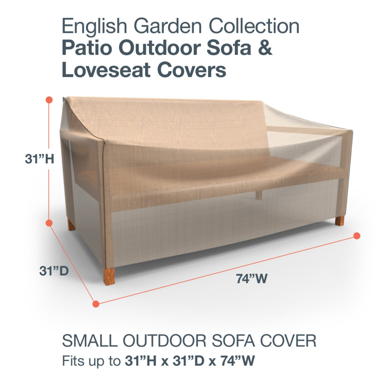 Budge English Garden Outdoor Patio Sofa Cover: Amazon.es: Jardín