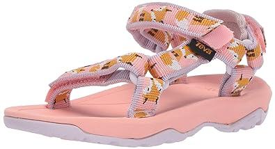 538a2e10ad4bc Teva Girls  T Hurricane XLT 2 Sport Sandal Fox Orchid Pink 4 Medium US  Toddler