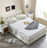 """Dream Care Soft Terry Cotton Mattress Protector(72""""x78""""xSkirting 10"""")(King Size - Double Bed)(White)"""