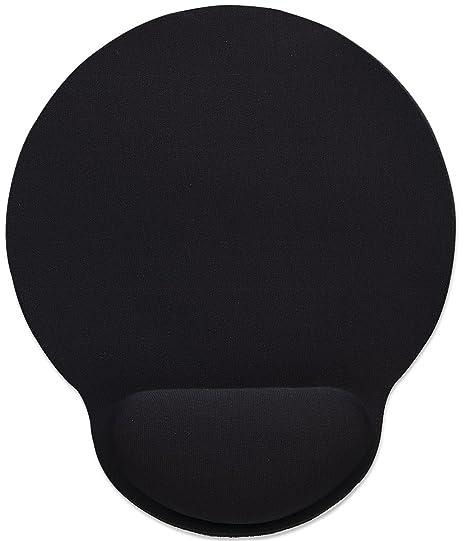 Manhattan Products 434362 Wrist-rest Black Gel Mouse Pad