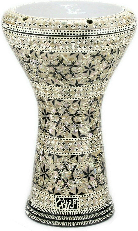 M11 17 inches Drum Darbuka tabla doumbek mother of pearl Gawharet El Fan musical instrument Egyptian handmade