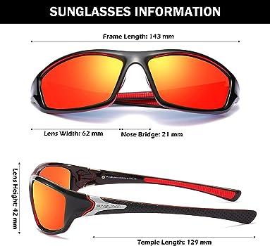 Polarized Sunglasses Men Anti-UV Outdoor Wind Goggle Sunglasses XY