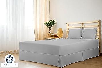 Royal Linen Collection Royal Linen Collection Hotel Quality 800tc Split Corner Bed Skirt 17