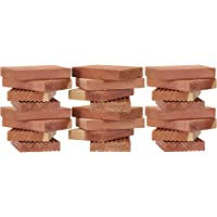 Household Essentials Cedar Blocks for Clothes Storage Pack of 24, Brown