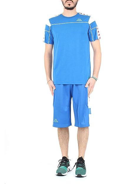 Kappa - Camiseta - para Hombre Azul Size: Large