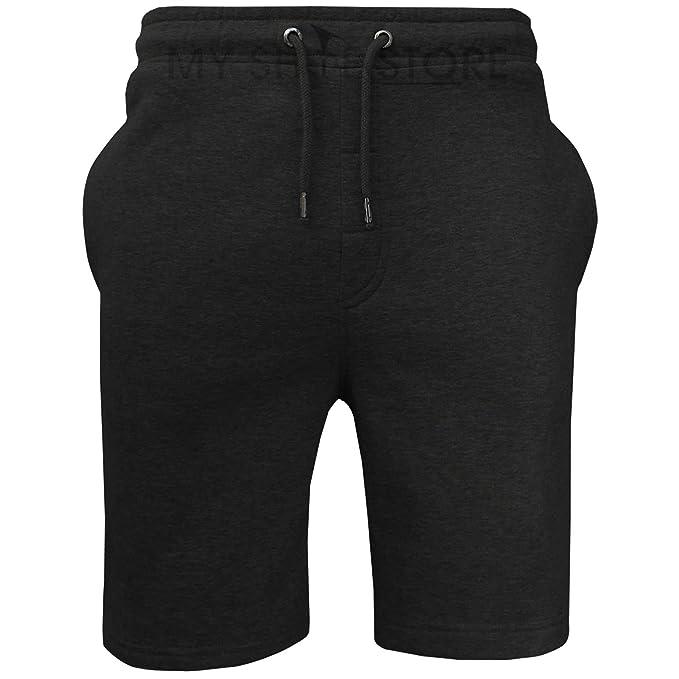 Mens Brave Soul Sweat Comfy Summer Fleece Jersey Baggy Jogging Shorts S-XL