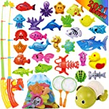 Cheffun Fishing Water Pool Toys for Kids - Bath Toy for Toddlers Magnetic Game Set Outdoor Indoor Carnival Party Water Table