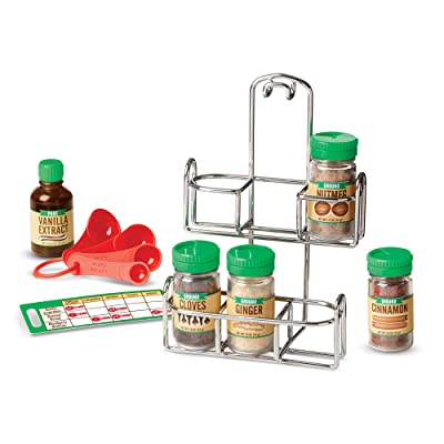Melissa & Doug Let's Play House! Baking Spice Set: Toys & Games