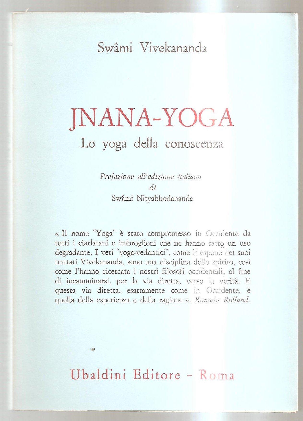 Jnana-yoga : Lo Yoga della conoscenza: Amazon.es ...