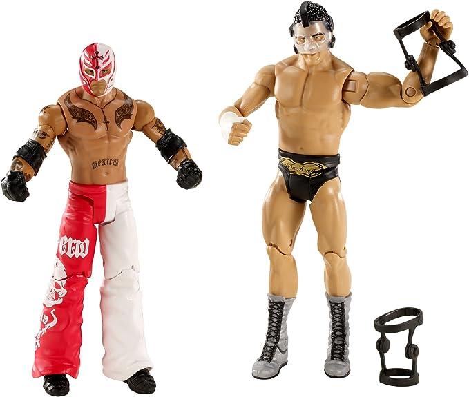 Mattel – X3001 – Figura WWE – Battle Pack – Rey Mysterio vs Cody Rhodes: Amazon.es: Juguetes y juegos