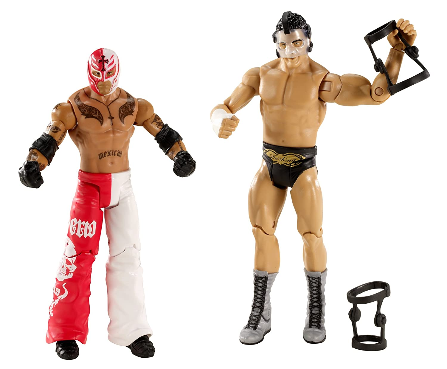 Mattel – 25,4 – Figur – WWE – Battle Pack – Rey Mysterio vs Cody Rhodes