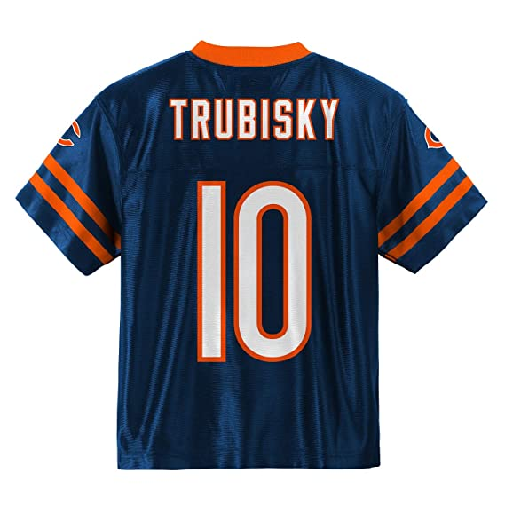 2e71c32eb Amazon.com   Outerstuff Mitchell Trubisky Chicago Bears  10 Navy Blue  Toddler Home Player Jersey (2T)   Sports   Outdoors