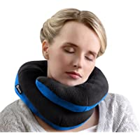 BCOZZY Chin Supporting Travel Pillow- Keeps The Head from Falling Forward - Comfortably Supports The Head, Neck and Chin in Any Sitting Position. Adult Size, Black