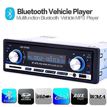 Kingtoys® Autoradio digital Media Receiver mit Bluetooth ...