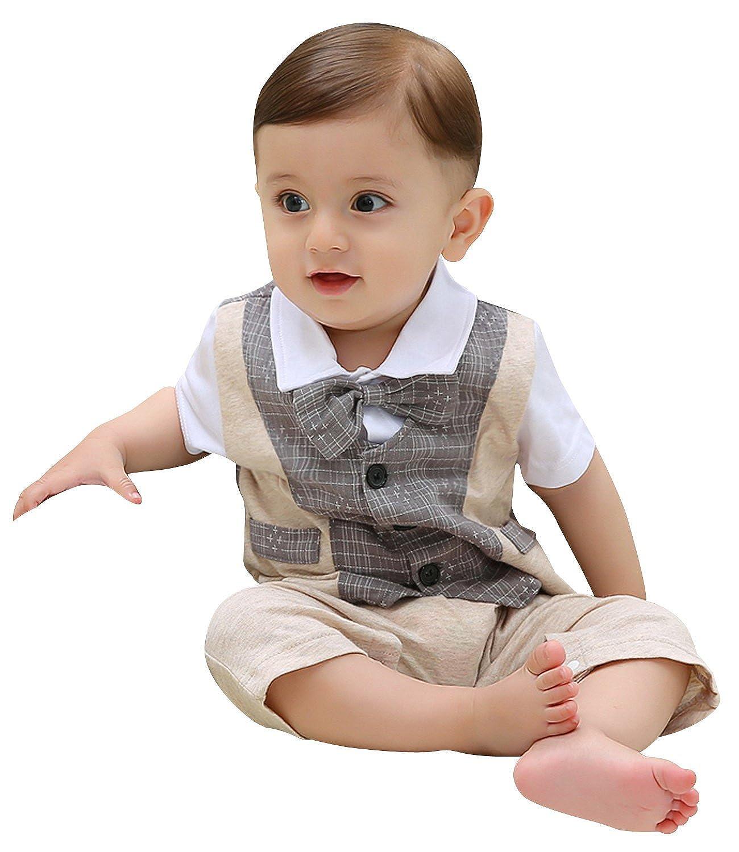 ZOEREA 1pc Kinder Baby Kleinkind Junge Kleidung Spielanzug Bodysuit ...