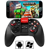 Android Bluetooth Phone Controller, BEBONCOOL Bluetooth Game Controller, Bluetooth Gamepad (For Android Phone / Tablet / TV Box / Samsung Gear VR / Emulator) Gear VR Controller