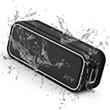 JCY Waterproof Bluetooth Speaker, Outdoor Wireless Speaker with Rich Bass,  Portable Bluetooth Speaker with IPX7 Waterproof,
