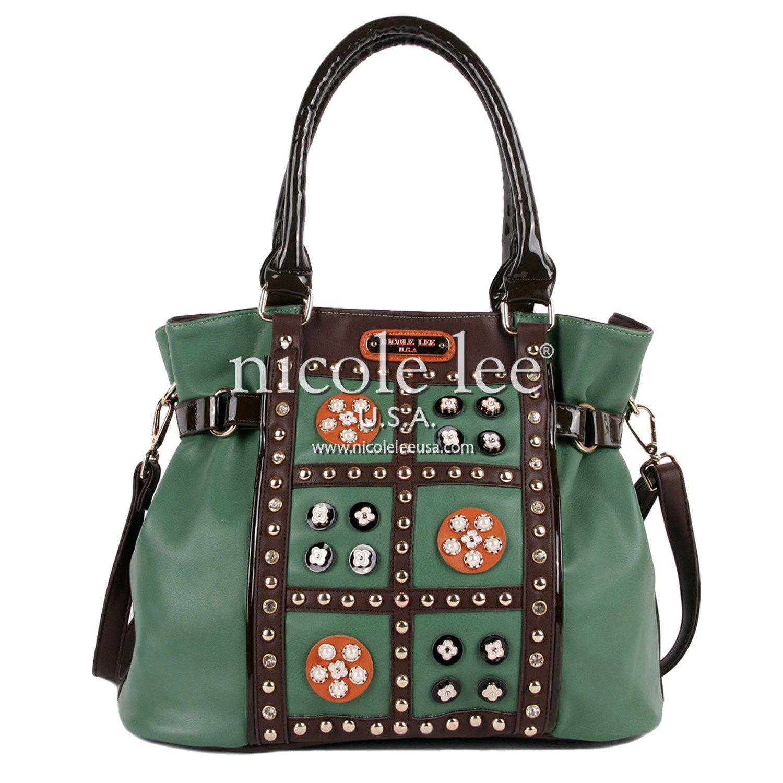 Nicole Lee Daysha Flowery Embellish Shoulder Bag