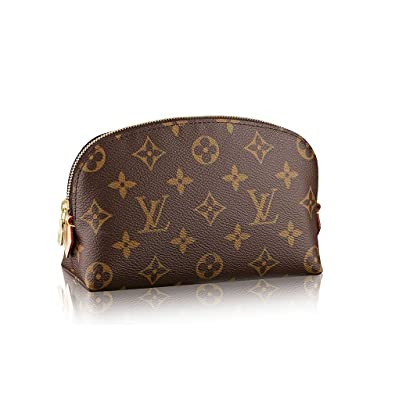 147742d77f9a Amazon.com  Louis Vuitton Monogram Canvas Cosmetic Pouch M47515  Shoes