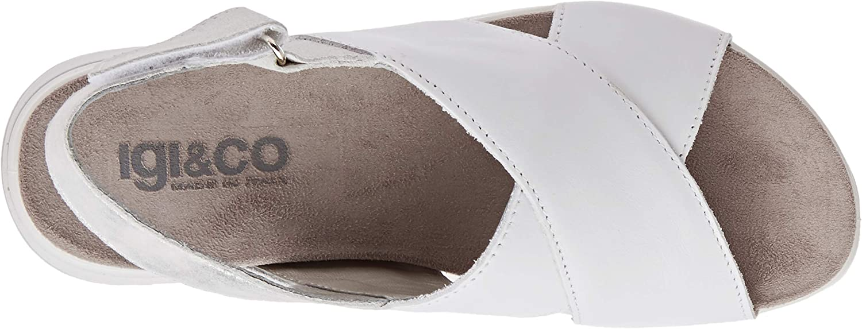 IGI&CO Sandalo Donna Dsd 51743, Plateau Bianco Bianco 5174333