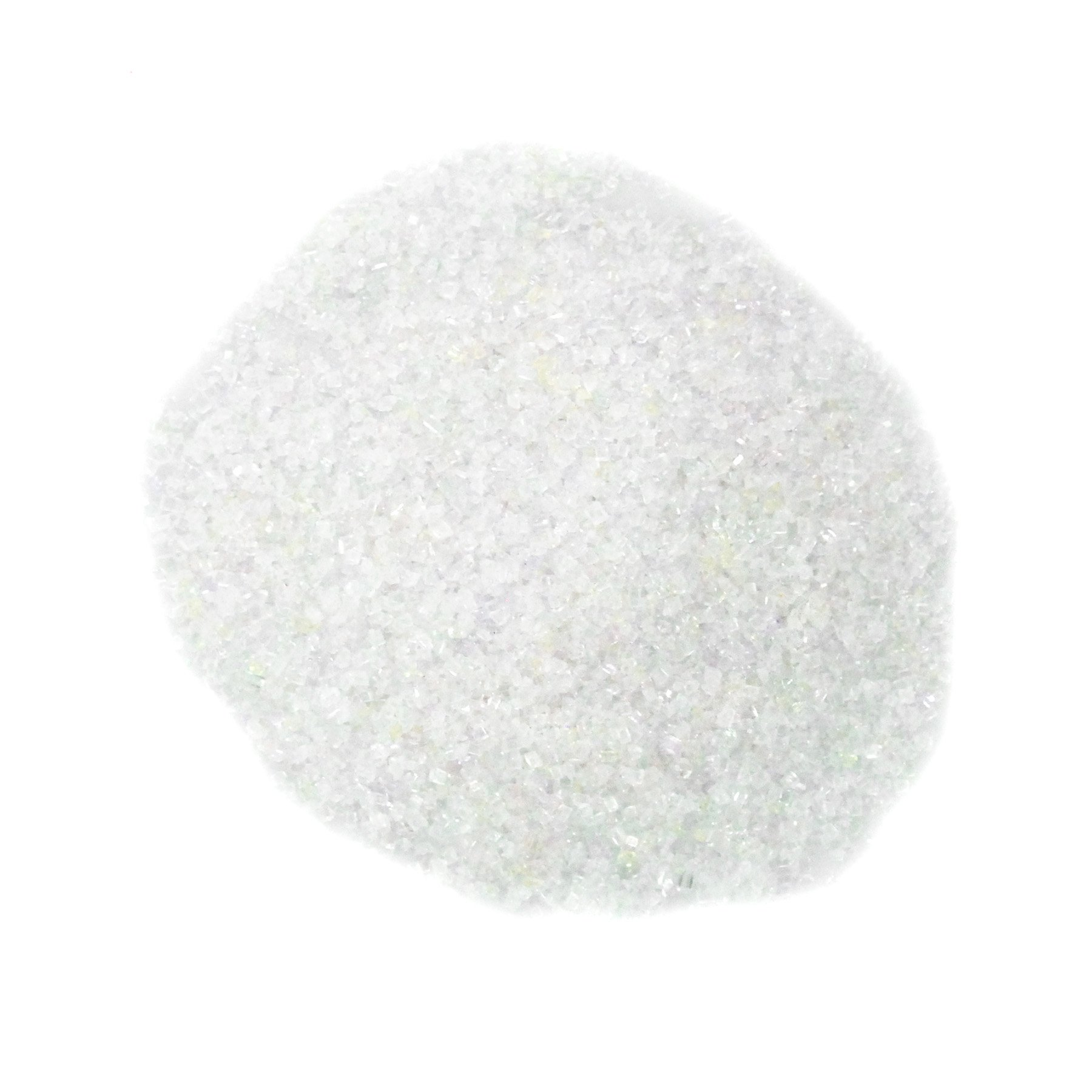 Dress My Cupcake DMC27011 Decorating Sanding Sugar for Cakes, 16-Ounce, Opal White