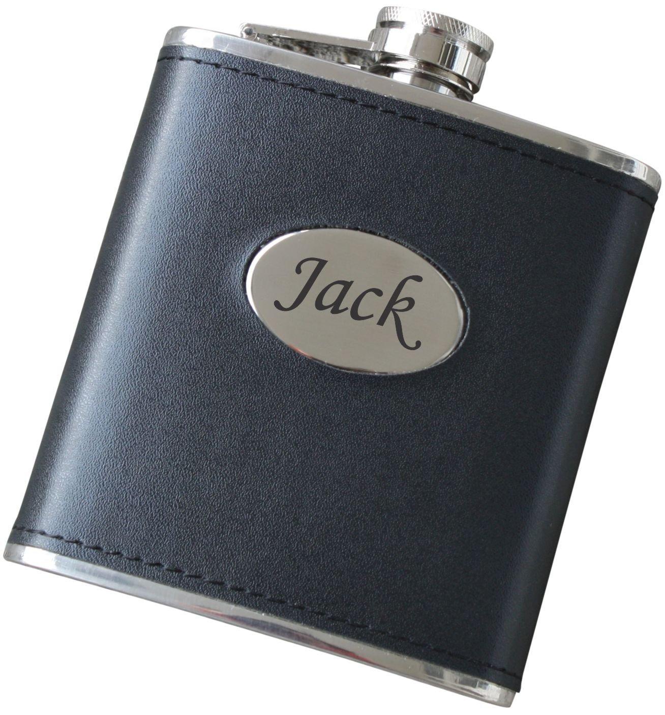 Personalized Stainless Steel Flask for Husband, Boyfriend, Groomsmen - F01FSK127