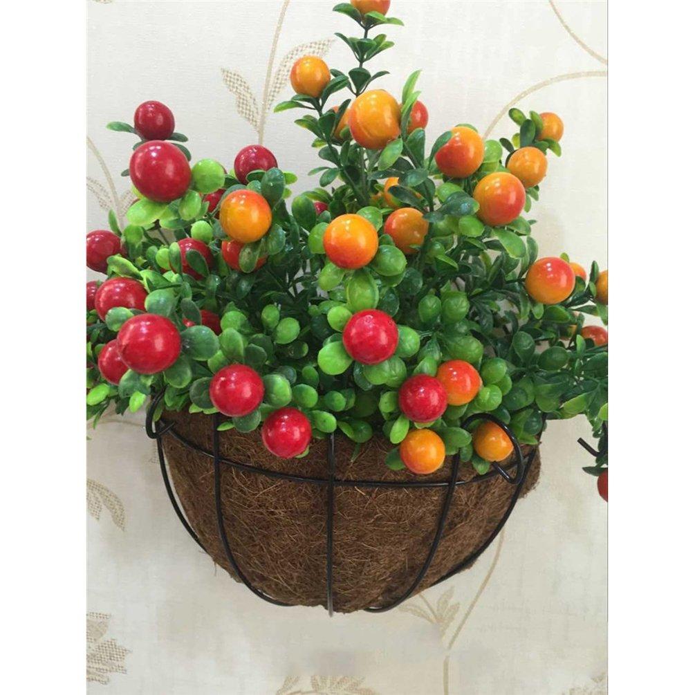 AODEW Wall-mounted Decor Flower Pots Hanging Planter Basket Hanger Garden Decoration Hanging Baskets Planter Basket