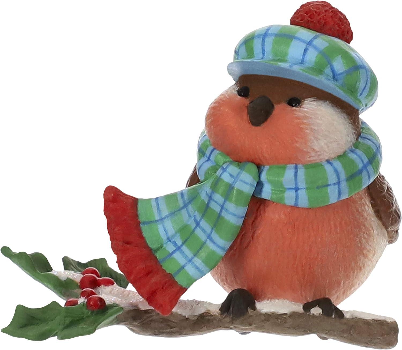 Hallmark Keepsake Christmas Ornament 2019 Year Dated Cozy Critters Bird