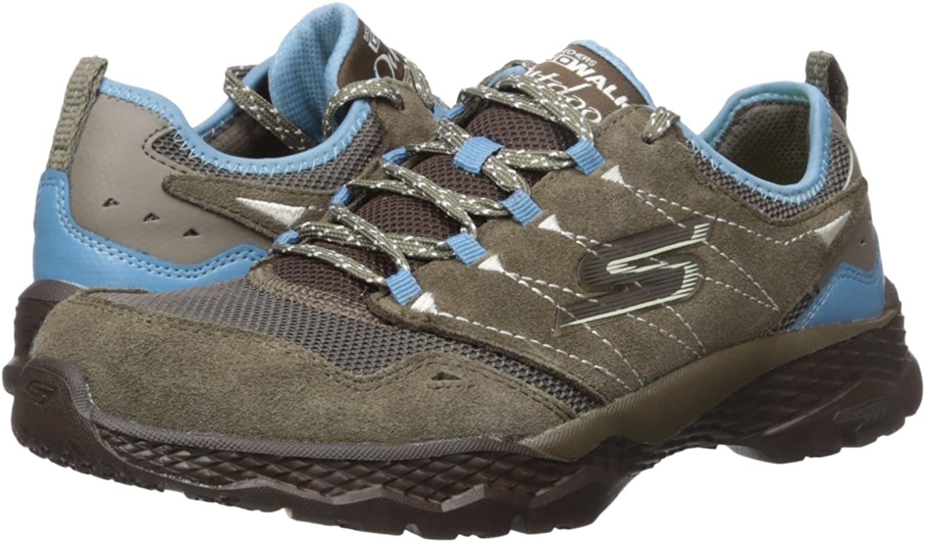 Zapatillas para caminar Performance Out Go-Journey para exteriores, Taupe / Blue, 6.5 M EE. UU.: Amazon.es: Zapatos y complementos