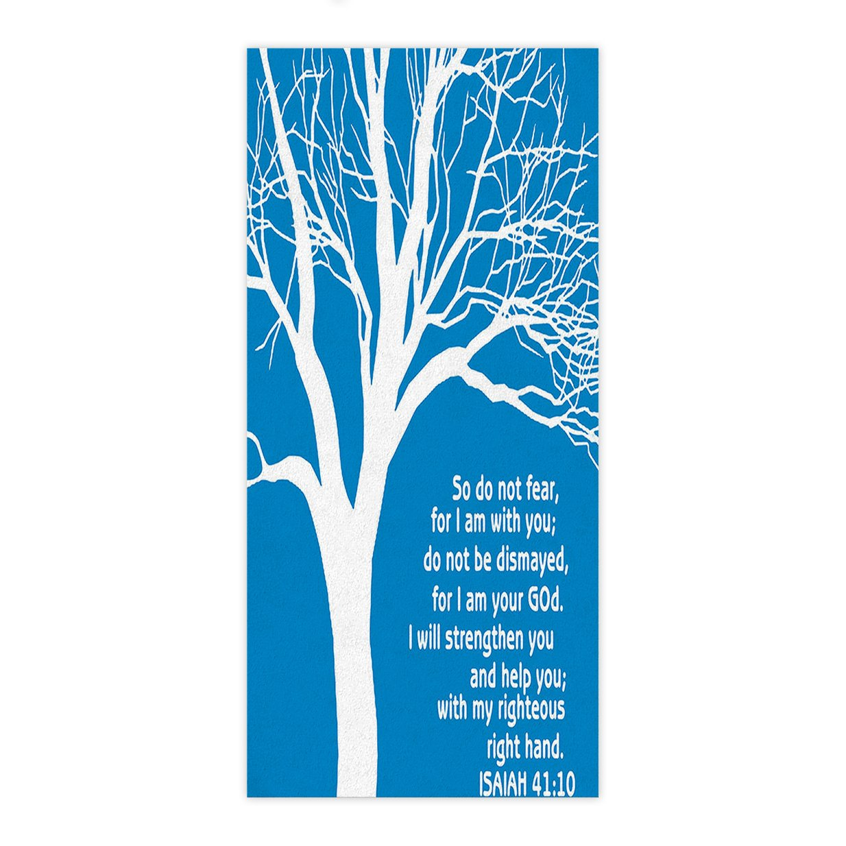 Crystal Emotion Christian Bible Verses Scriptures Ecclesiastes Quotes with Nature Tree of Life,Beach Towel Bath Towel Bathroom Shower Towel Bath Wrap For Body,Gym,Spa,Home,Hotel Use