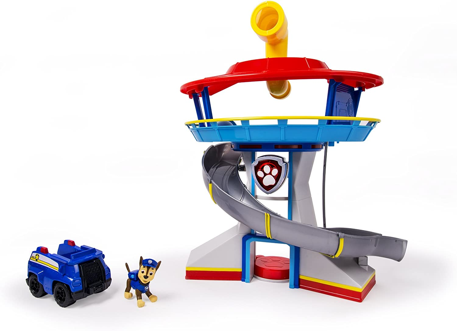 Amazon Com Paw Patrol Look Out Playset Toys Games