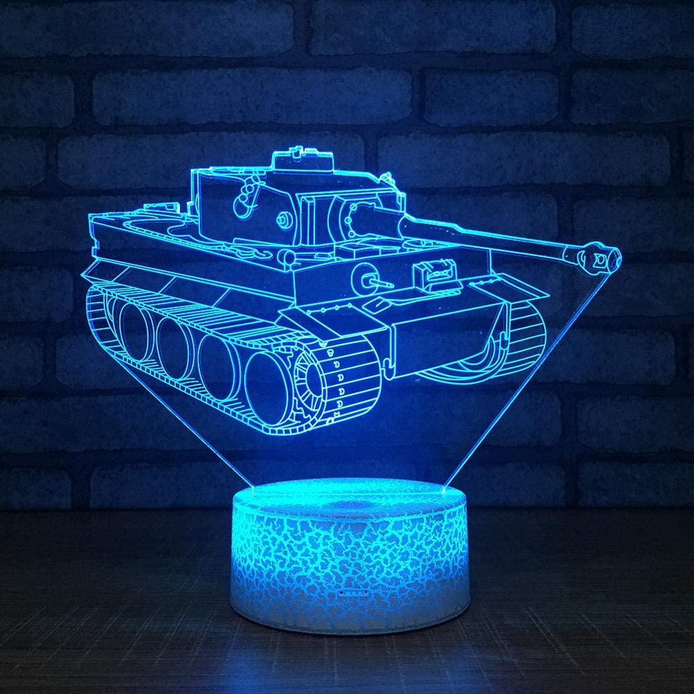 Creative Kids Bedroom 3D Night Light Night Decorativo Regalo de cumpleaños 3D Light Up Usb Led Kids Lampusb Recargable Esposa Marido Hijo Hija Papá Mamá Nieto Regalo Decoración para oficina Estudio Ti