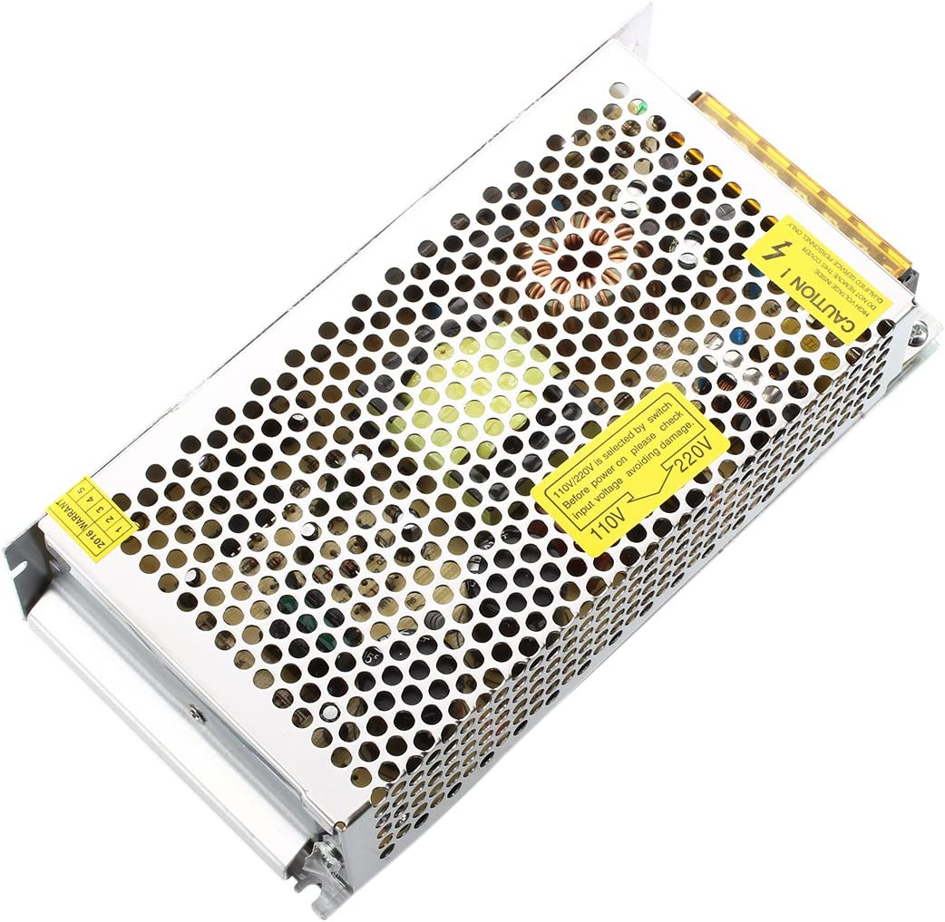 Andifany TRANSFORMATEUR dalimentation STABILISE LED 12V 15A 150W
