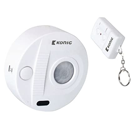 Mini sistema de alarma de techo con sensor de movimiento + alarma + mando a distancia